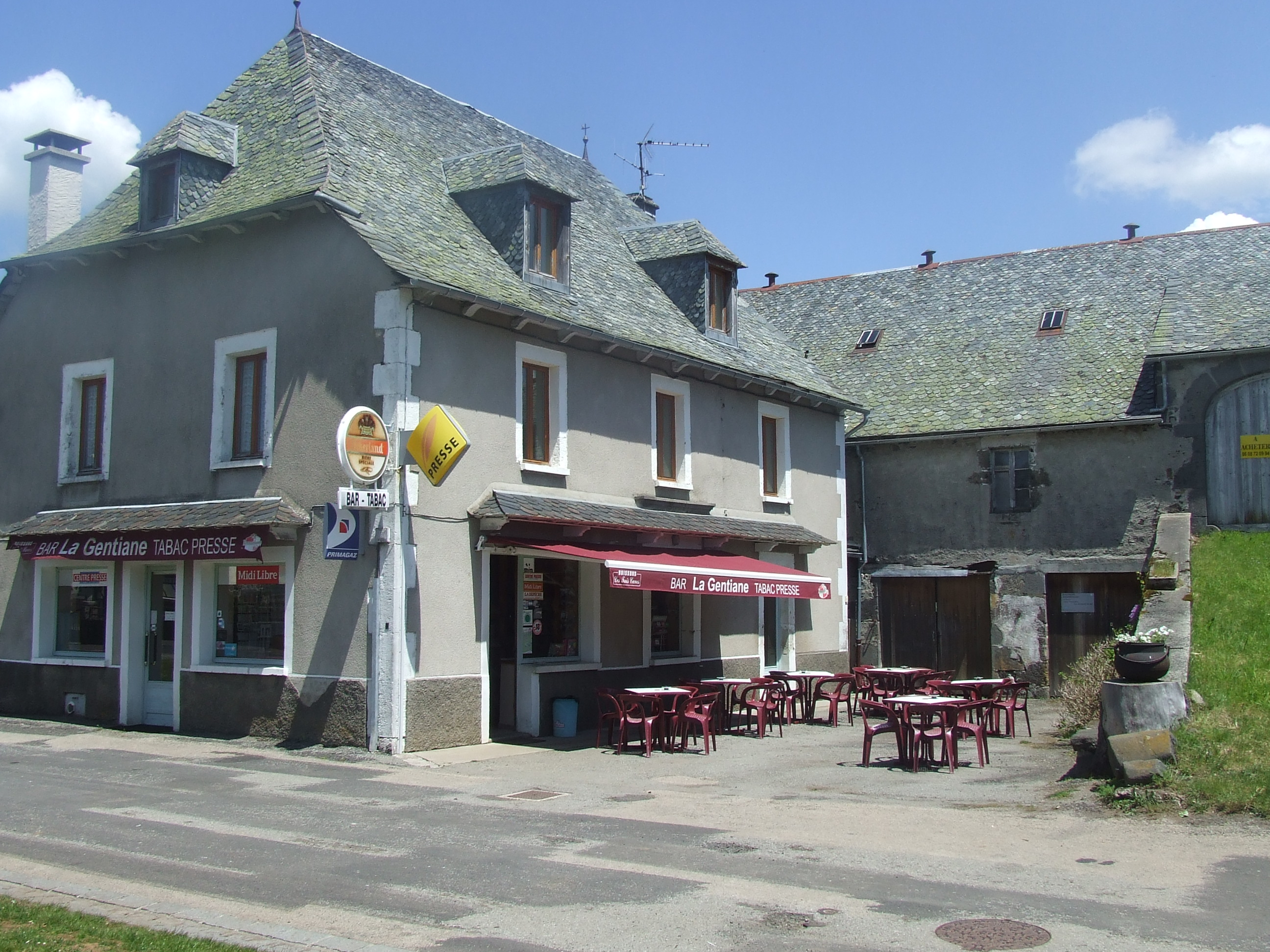 Bar tabac restaurant