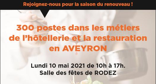 Job dating des métiers de l'hôtellerie restauration - Saison estivale 2021